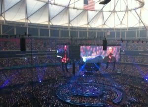 60,000 people praising Jesus in the Dome