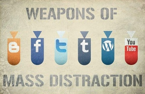 Sometimes distractions can keep us from our goals. (Photocredit: birgerking- creative commons)